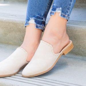 Shoes - ❗️Sale❗️Light Tan Slip-On Mule